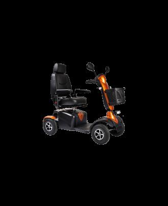 DX8 deluxe road scooter orange
