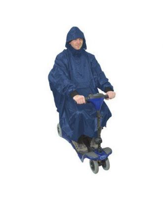 Mobility scooter poncho