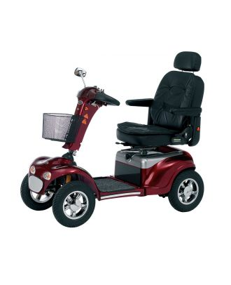 Shoprider Road mobility scooter red