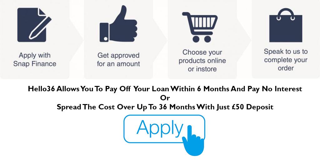 snap finance apply button